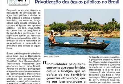 O Leme - Privatização das águas