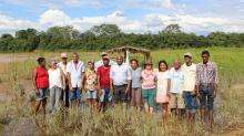 D. Valdeci e agentes do CPP visitam Canabrava